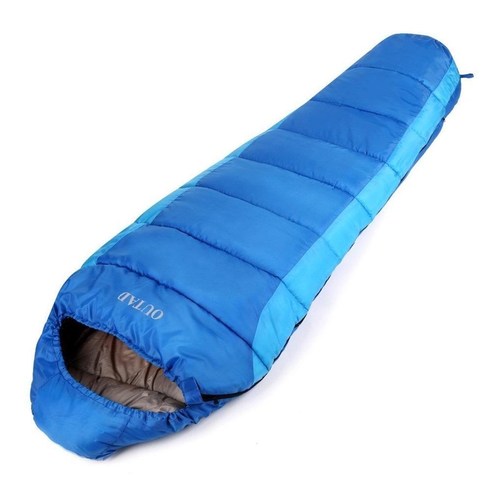 Outad Warm Adult Sleep Bag Outdoor Mummy 0 10 Degree Sleeping Bags