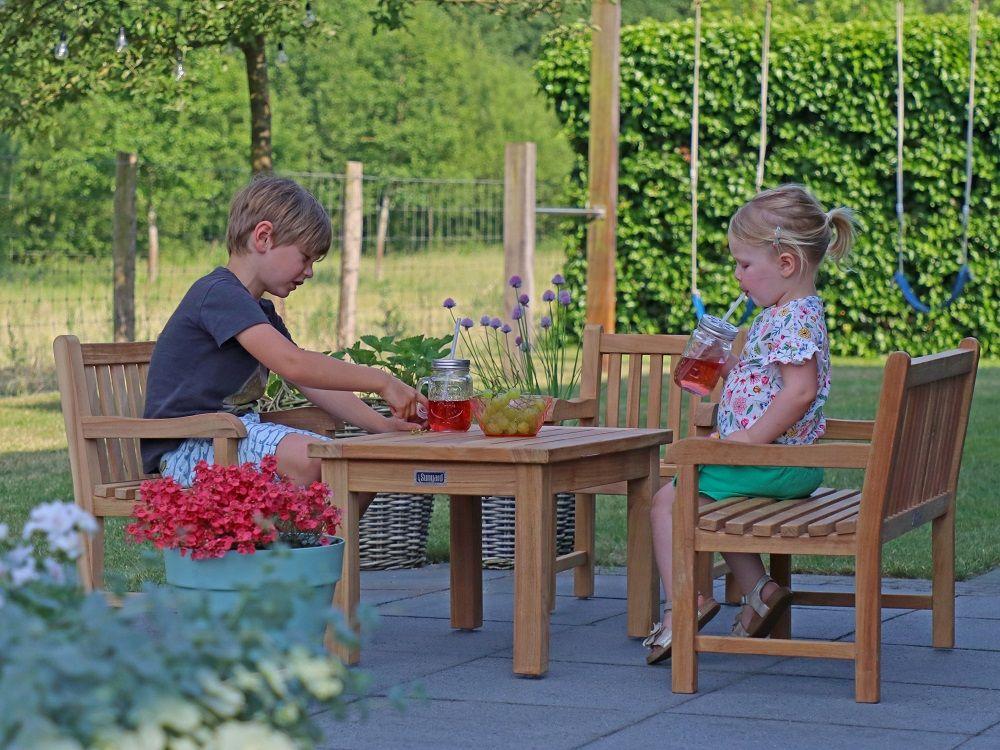 Schone Kinder Gartenmobel Aus Teakholz Gartenmobel