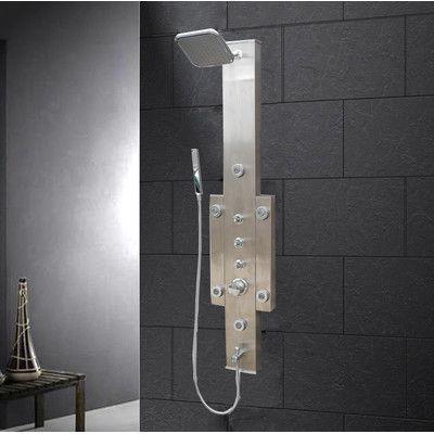 Ariel Bath Shower Panel Diverter/Dual Function | Products ...