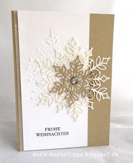 Photo of Idee für Produktpaket Flockengestöber, Stempelset Wintermärchen und Stanzen S…