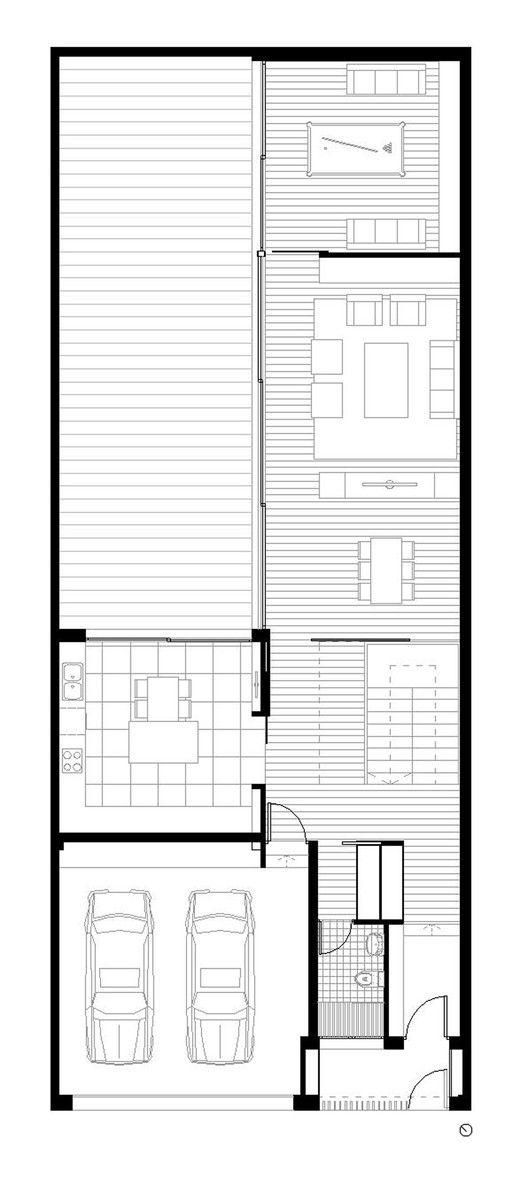 Galer a de vivienda unifamiliar en almansa mbvb arquitectos 19 en 2019 cocinas - Plano de almansa ...