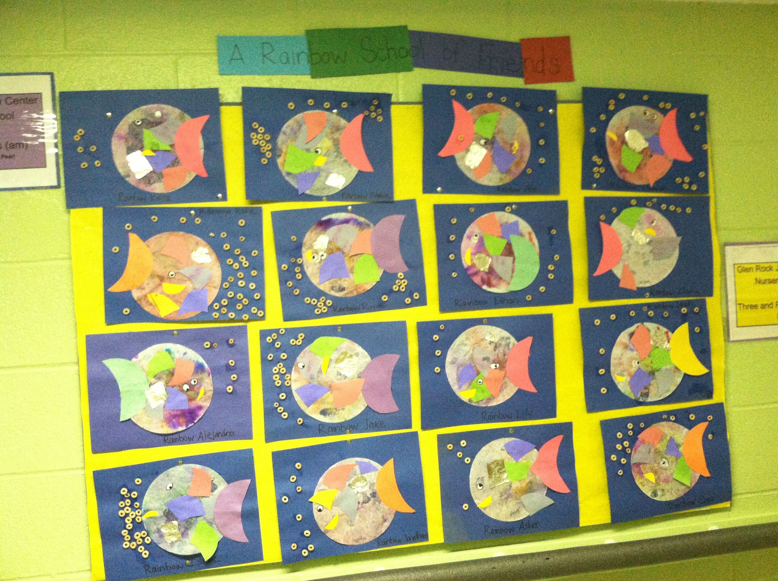 Preschoolers Explore Rainbow Fish Friendship With Images