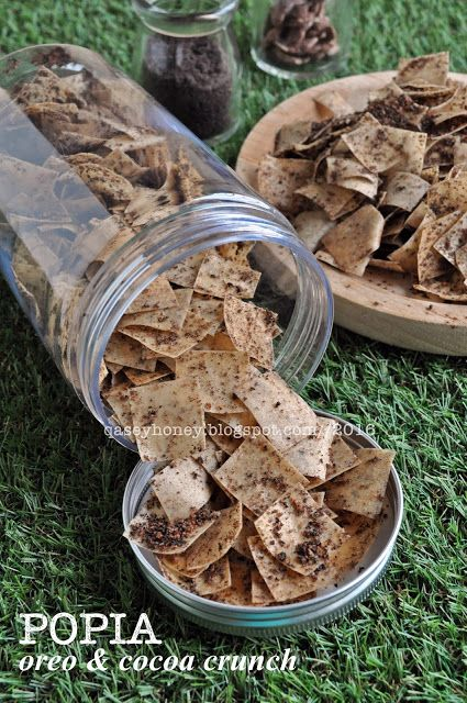 Qasey Honey Popia Oreo Koko Krunch Makanan Ringan Manis Makanan Ide Makanan