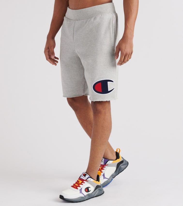 Champion Mens Reverse Weave Cut Off Shorts Shorts