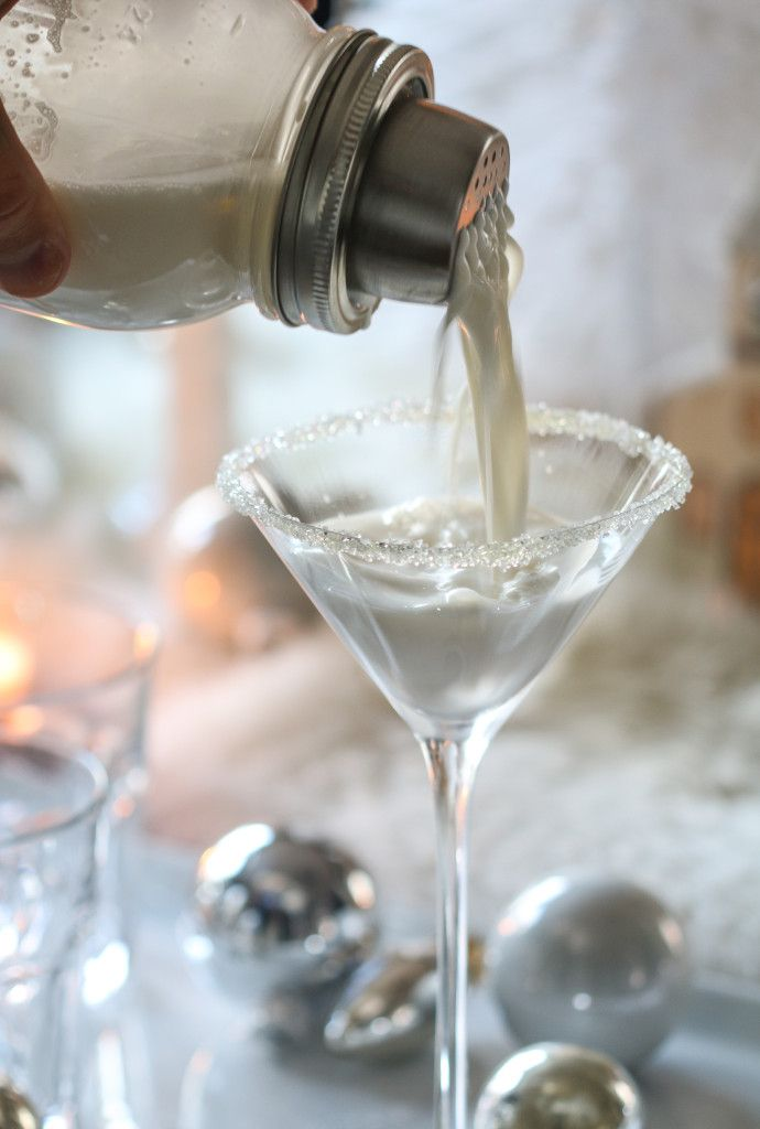 white christmas martini - White Christmas Martini Recipe