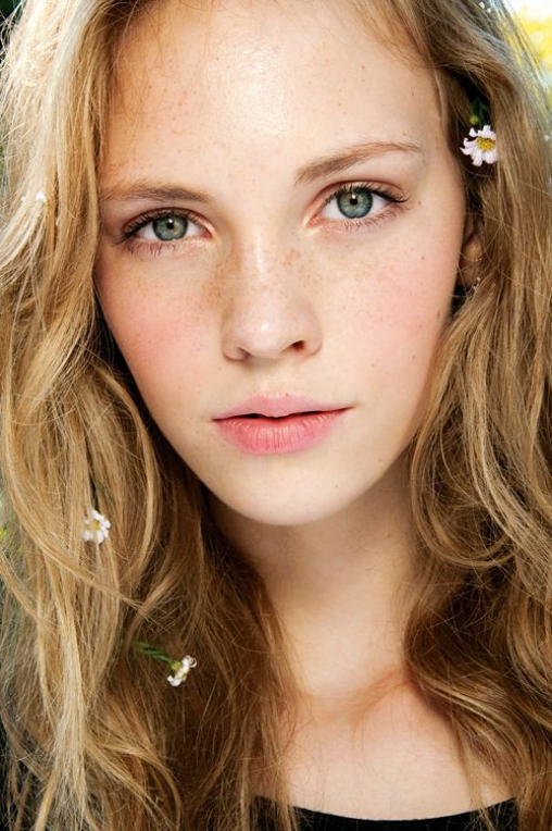 Blondine Blaue Augen Amateur