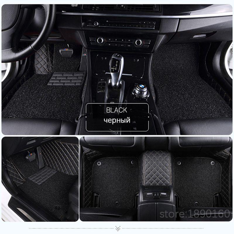 Custom Car Floor Mats For Benz A B C Cla Gla D E Ml Sl Slk R S600 Series Vito Viano Sprinter Maybach Cla Clk Auto Accessories Auto