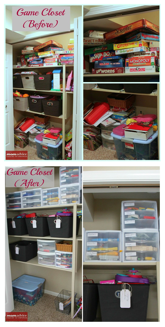 De Clutter Your Closets With Tips From Mom Amy I Feel Bad Getting Rid Of Bo But They Usually Break Anyway This May Hen Soon