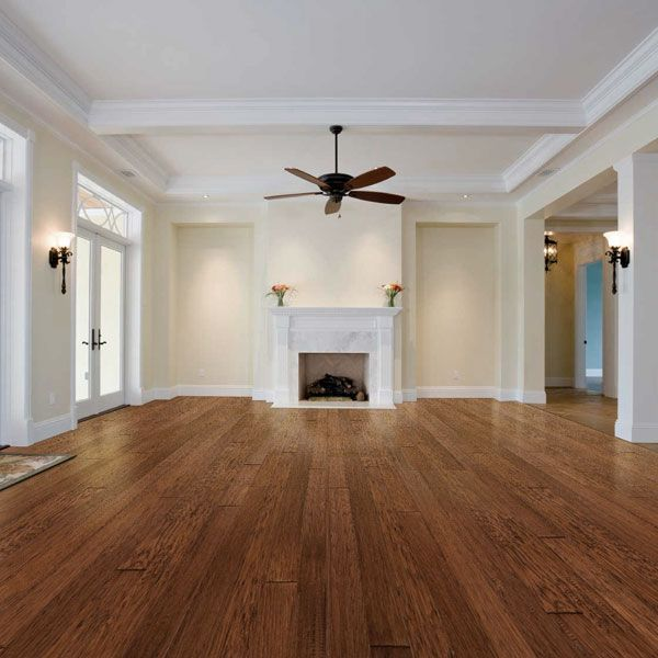 5 Engineered Hand Scraped Antique Hickory Hardwood Floors Dark