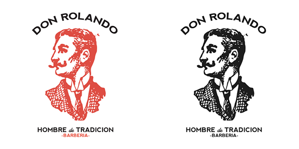 Don Rolando - Hombres de Tradición - Branding & Logo by Rolando Miguel Soberón, via Behance