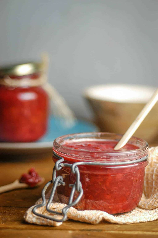 Keto-Friendly Strawberry Jam -   12 desserts Strawberry stevia ideas