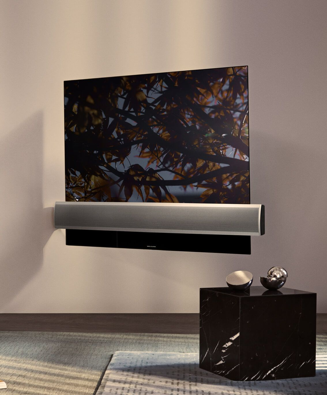 BeoVision Eclipse - 4K HDR OLED and the world's best TV sound