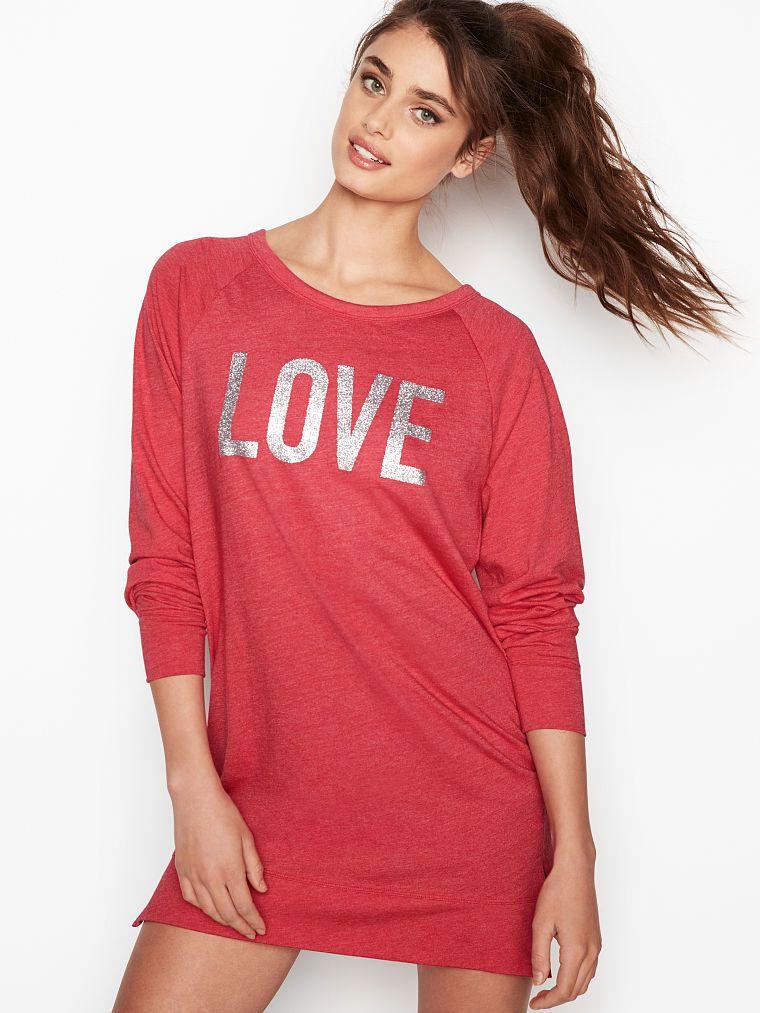 d7f066d06 The Angel Long Sleeve Sleepshirt - Victoria s Secret