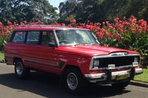 Jeep Cherokee Wagoneer Truck V8 Classic In Paddington Nsw Jeep