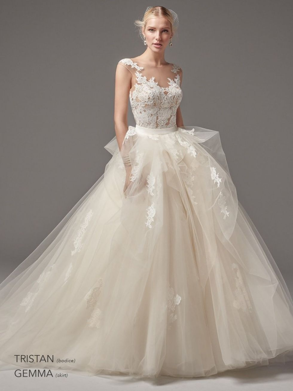 separates wedding dress. Sottero and Midgley. Separate top. Separate ...