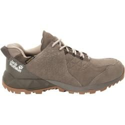 Photo of Jack Wolfskin waterproof women hiking shoes Cascade Hike Backlength Texapore Low Women 40.5 brown
