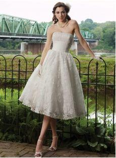 brautkleid 50er stil  kurzes hochzeitskleid brautkleid knielang hochzeitskleid tüll