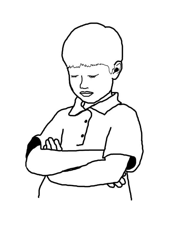 Free Lds Clipart To Color For Primary Children Reverent Prayer