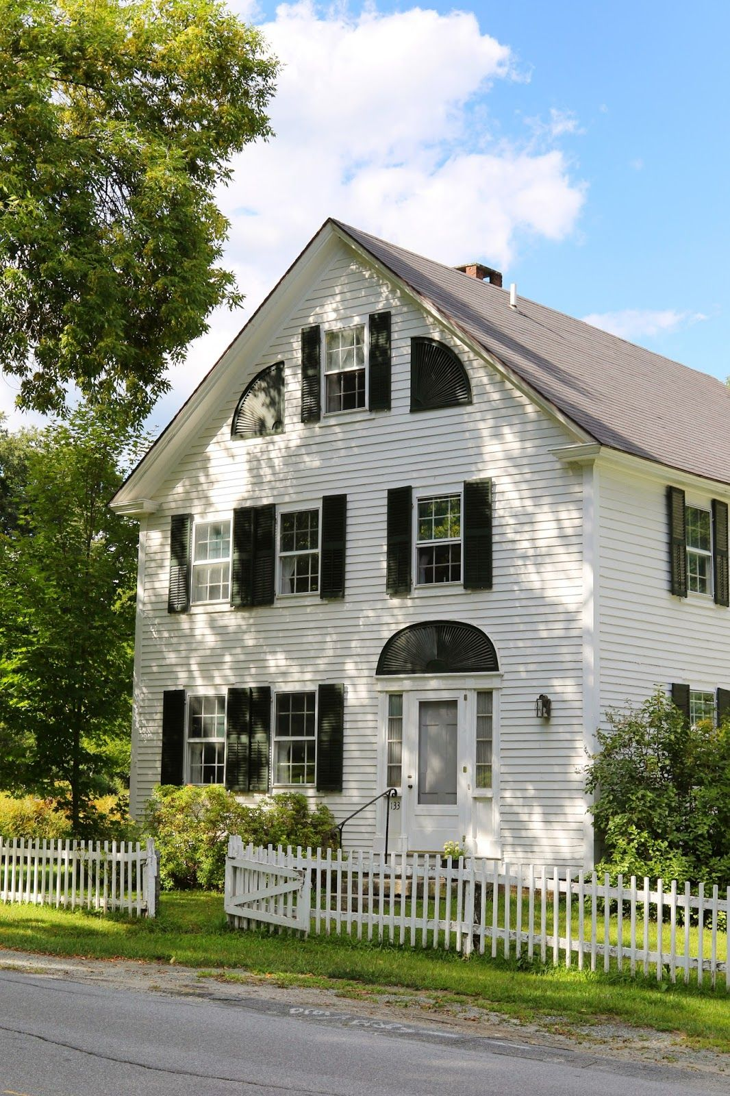 New England Village Getaway New England Homes New England Architecture