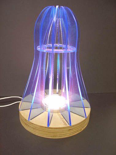 USB Lamps - Nottingham Emmanuel School - Kitronik  |Lighting Design Technology Products