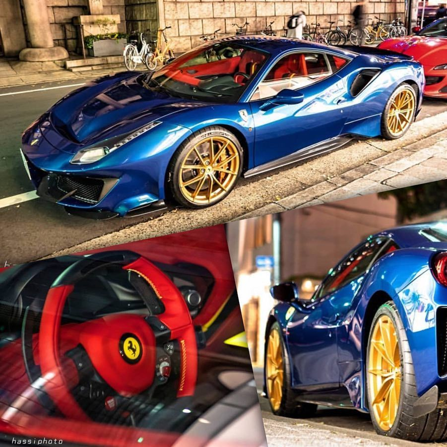 All We Want For Christmas Is This Epic 488 Pista Hassi Gr Rossoautomobili To Expensive Sports Cars Sports Car Sports Car Brands