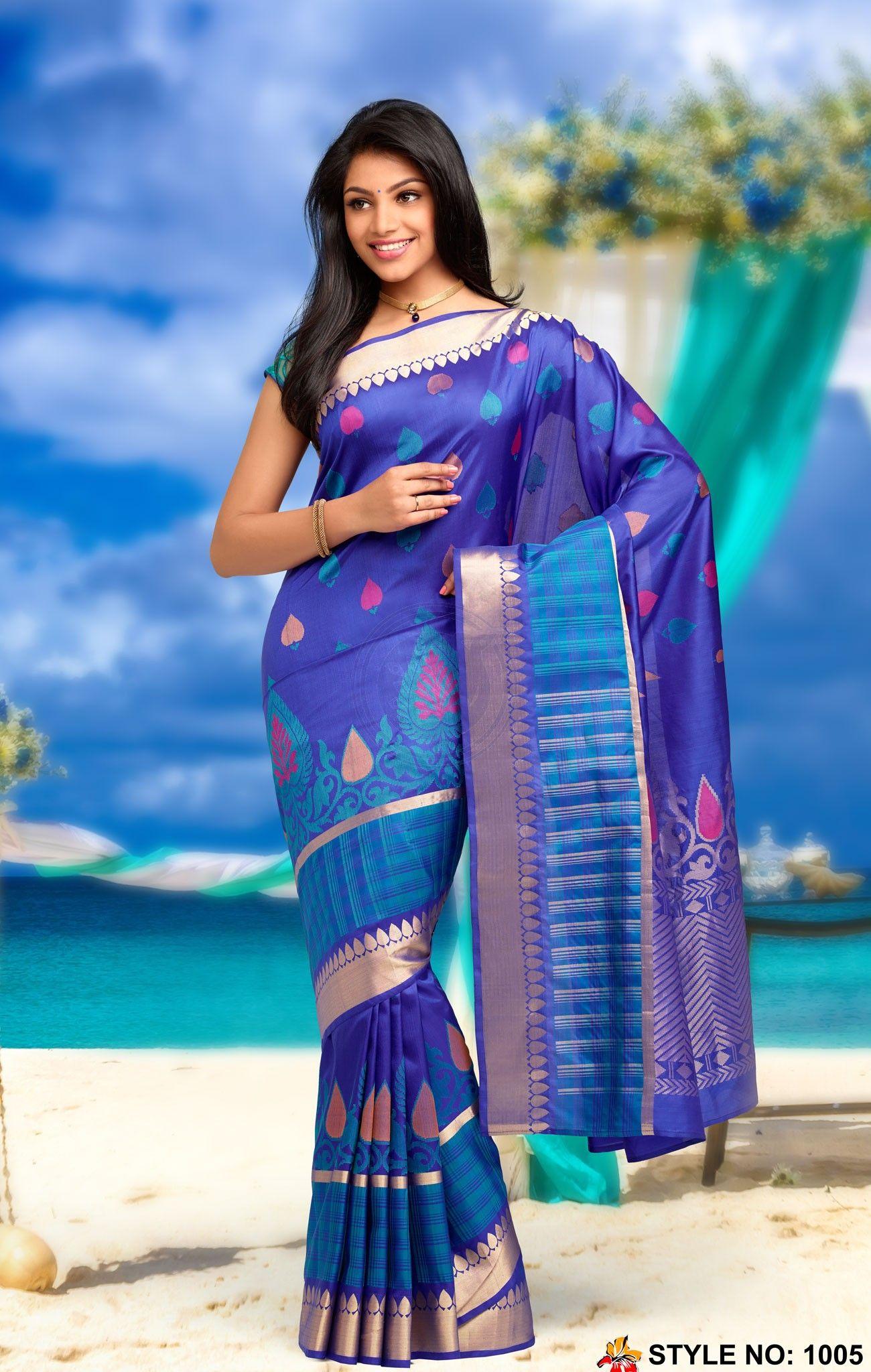 Rich Feel Soft Silk Saree 1005   Strands of Silk   Pinterest