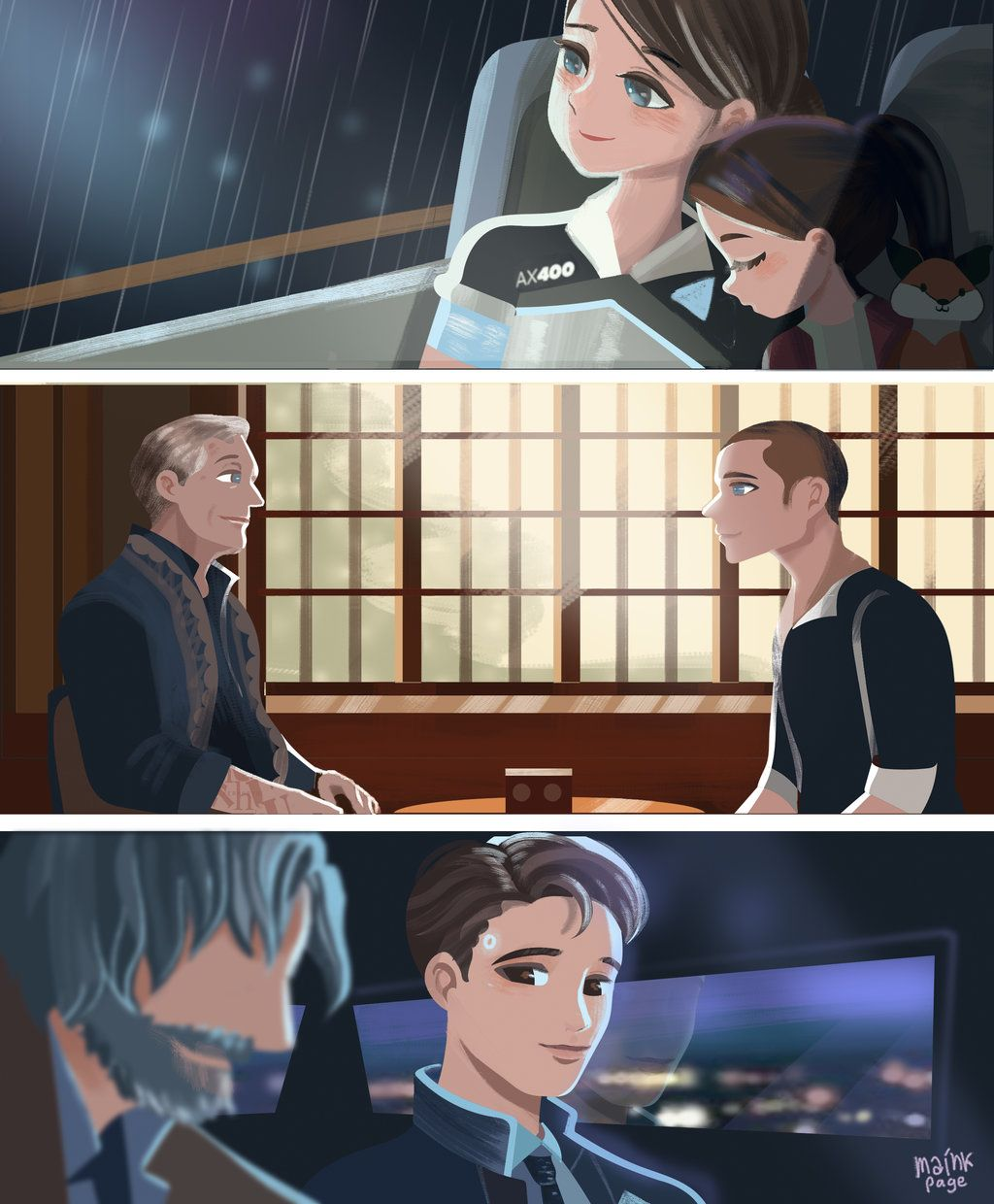 Dbh Connor X Depressed Reader