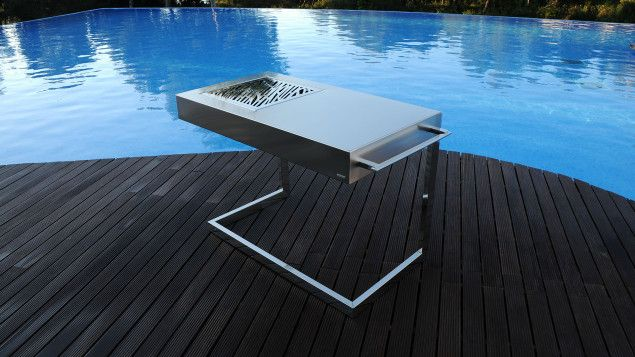 Barbecue Designs: Minimalist Barbecue | Grill | Feuer