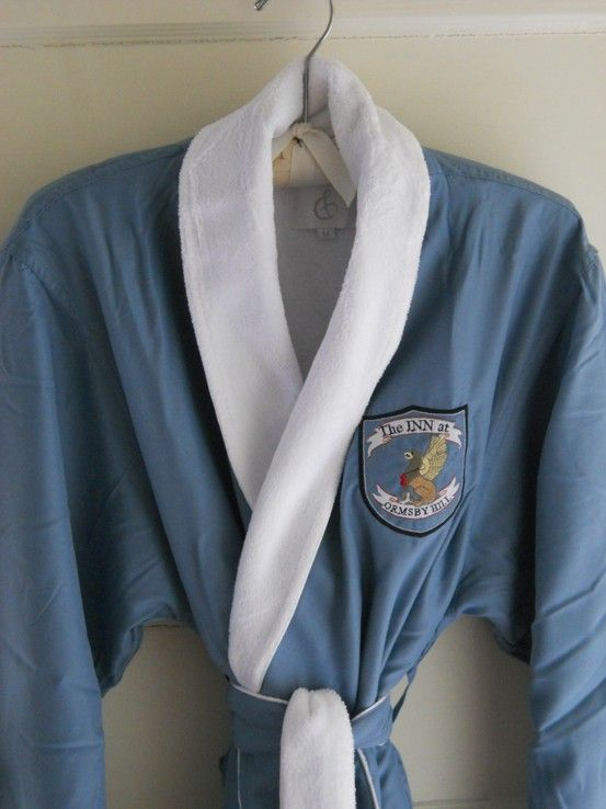 New robes in the guest rooms, soft and comfy.