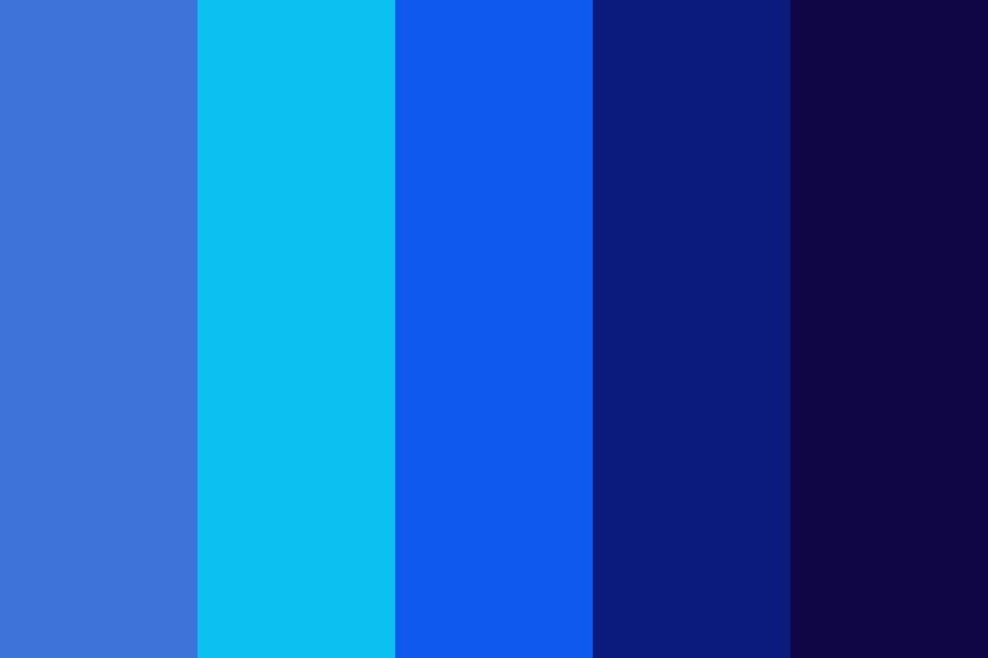Bluebackground Color Palette Colorpalette Colorpalettes