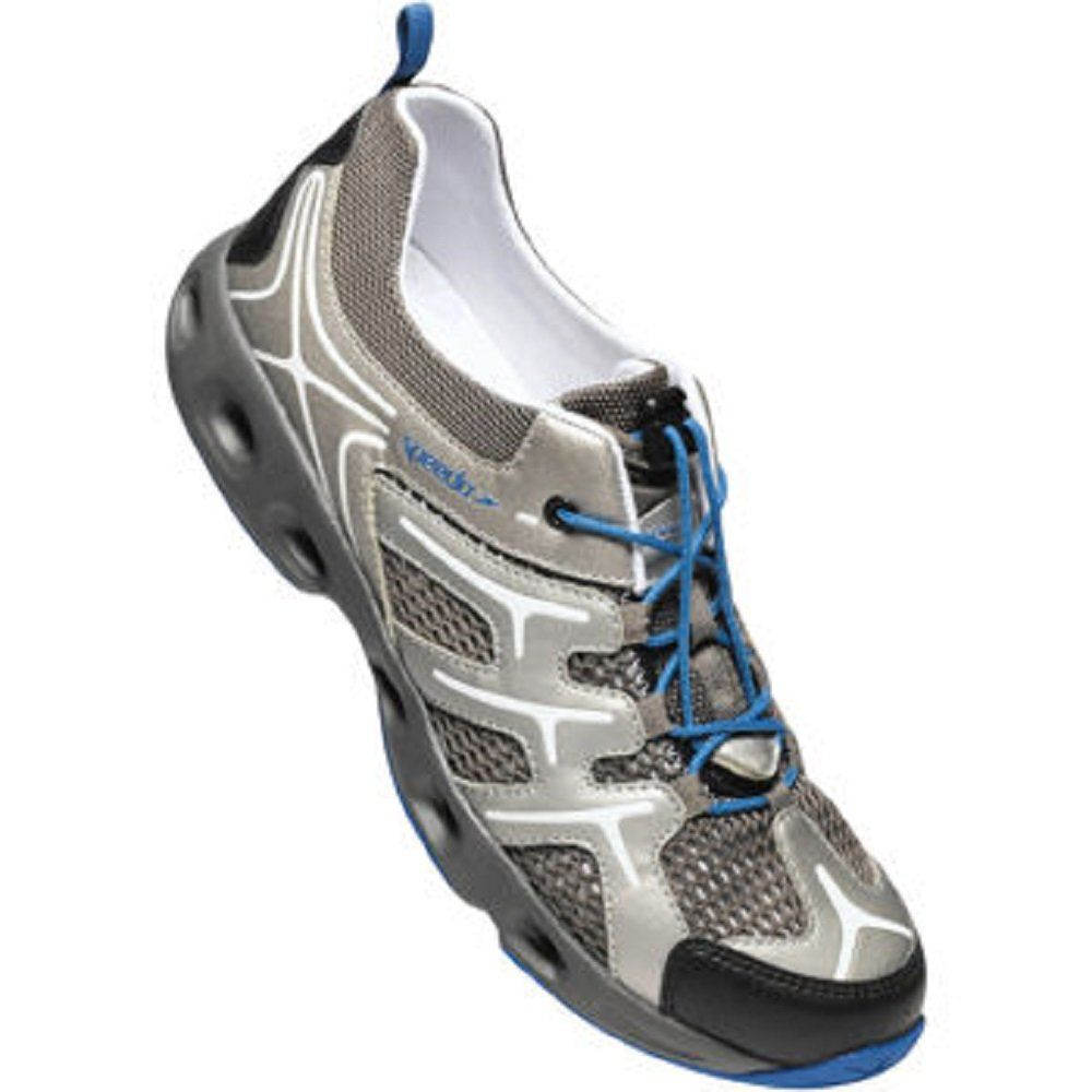 mar Mediterráneo Auroch Whitney  Speedo® Mens Hydro Comfort 3.0 Water Shoe (Grey/Blue)   Water shoes, Shoes,  Shoe style