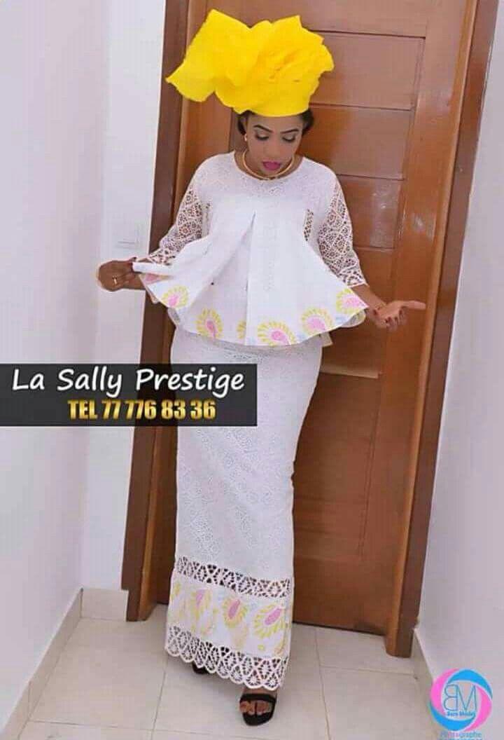 tissu blanc marignet mode africaine en 2019 robe africaine tenue africaine et mode. Black Bedroom Furniture Sets. Home Design Ideas
