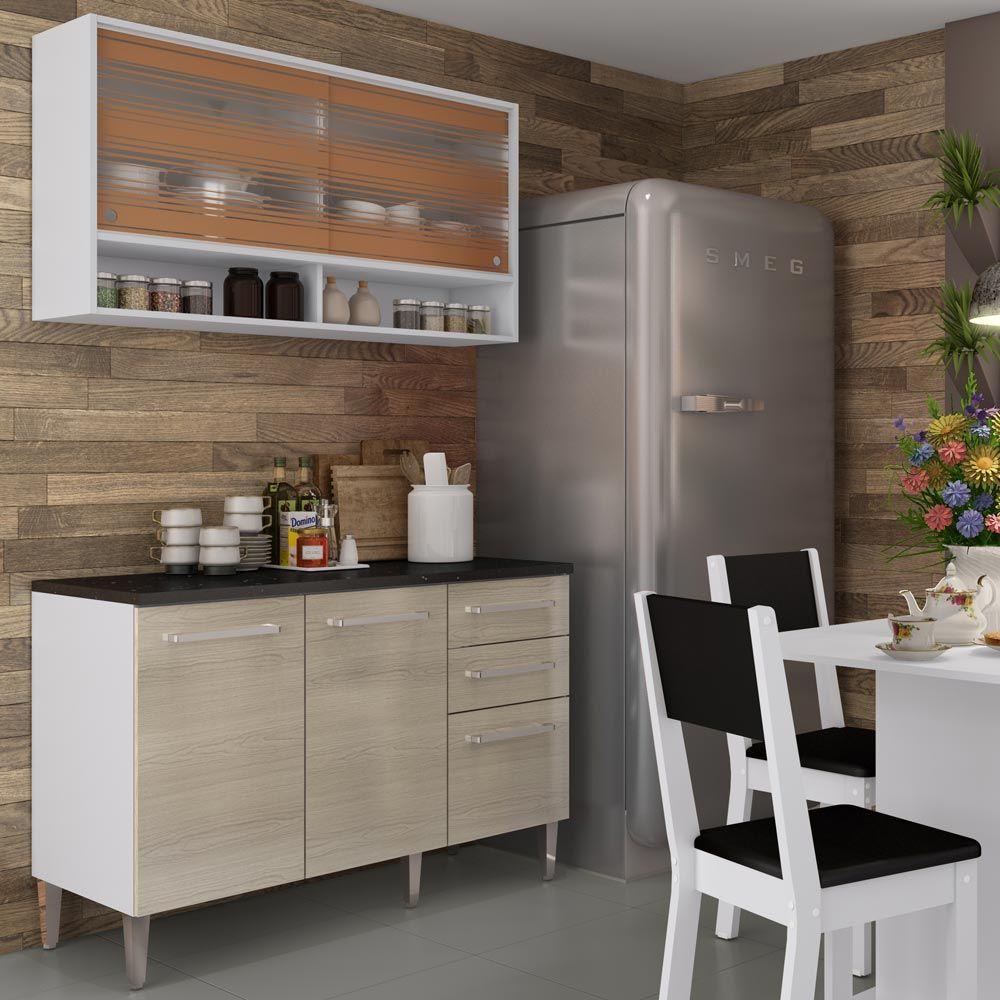 Cozinha Compacta Madesa Smart Resimden Com