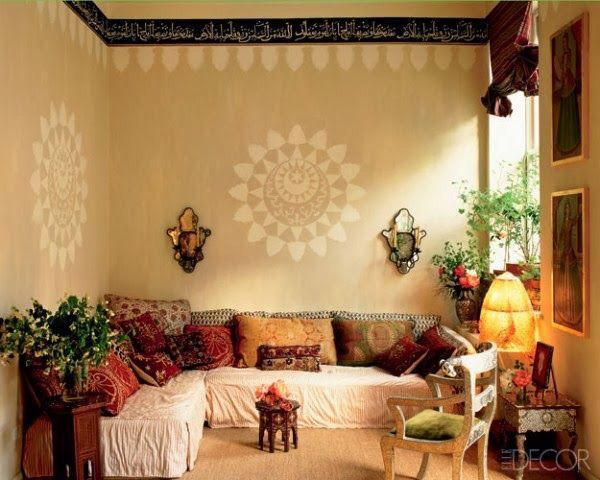 Ethnic Indian Wall Stencils | Ethnic ==> That\'s gotta be Indian ...