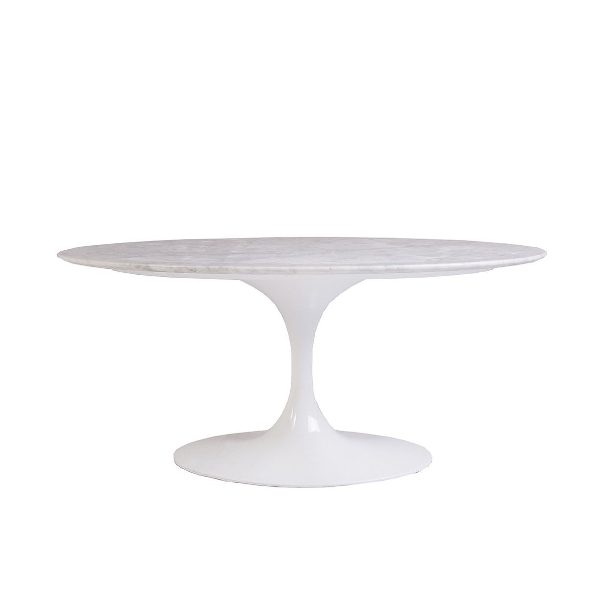Mid Century Modern Reproduction Marble Tulip Coffee Table 42 Oval Inspired By Ee Tulip Coffee Table Marble Tulip Coffee Table Mid Century Modern Coffee Table