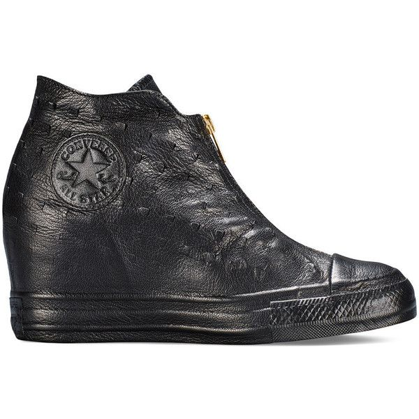 Converse Chuck Taylor All Star Lux Wedge Shroud - black