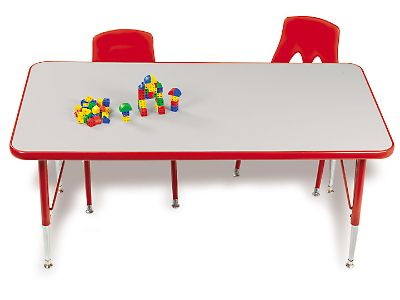 school rectangle table. Rainbow Space-Saver Rectangular Tables At Lakeshore Learning School Rectangle Table E