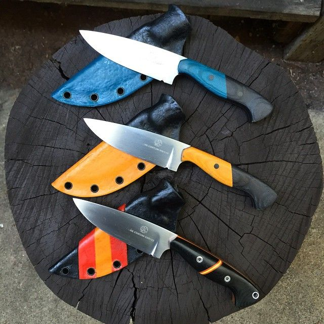Now need to finish-up the accessories... #knives #knife #knifemaking #Custom #Modern #Design #handmade #akcustomknives #blade #kalaniknives #fashion #Style #amazing #sharp #chefknife #forge #survival #customknife #tactical #Military #outdoor #bushcraft #custom #leather #Sheath #chef #kitchen #knifeporn #knifecommunity #like4like