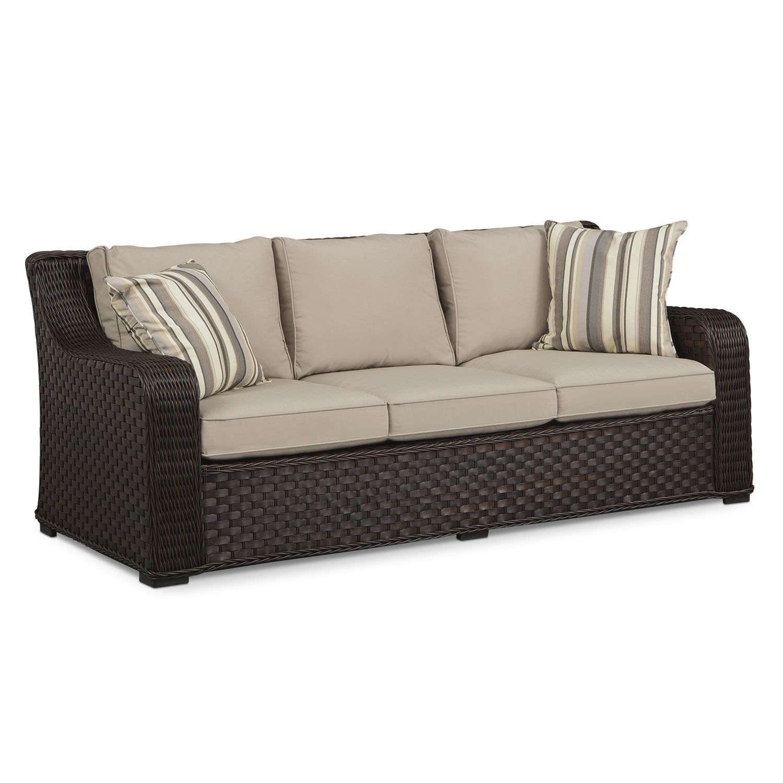 Outdoor Furniture   Doral Outdoor Sofa