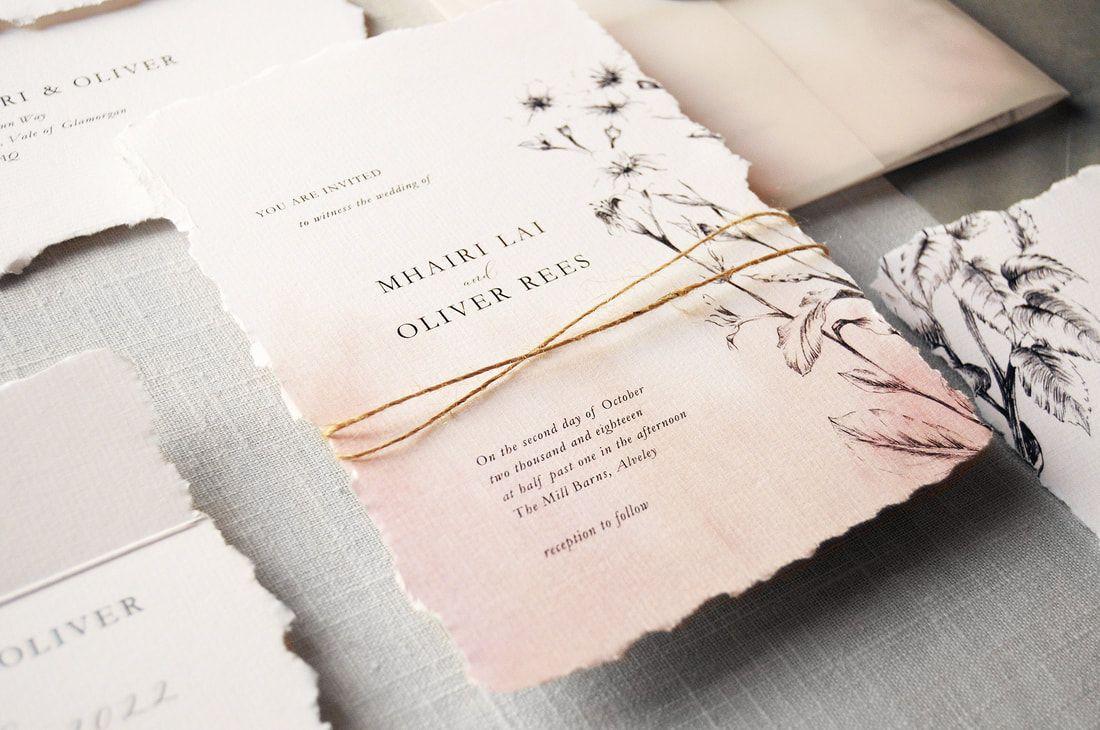 Daydream Wedding Invitation Feel Good