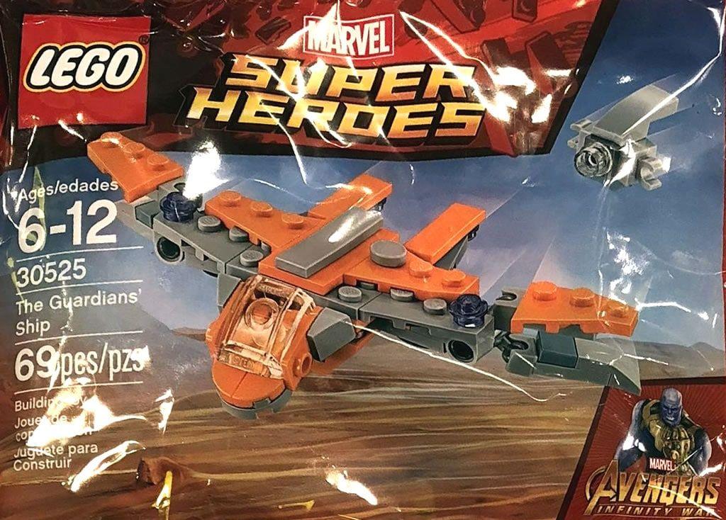 Nouveau polybag LEGO Avengers Infinity War : 30525 The Guardians ...