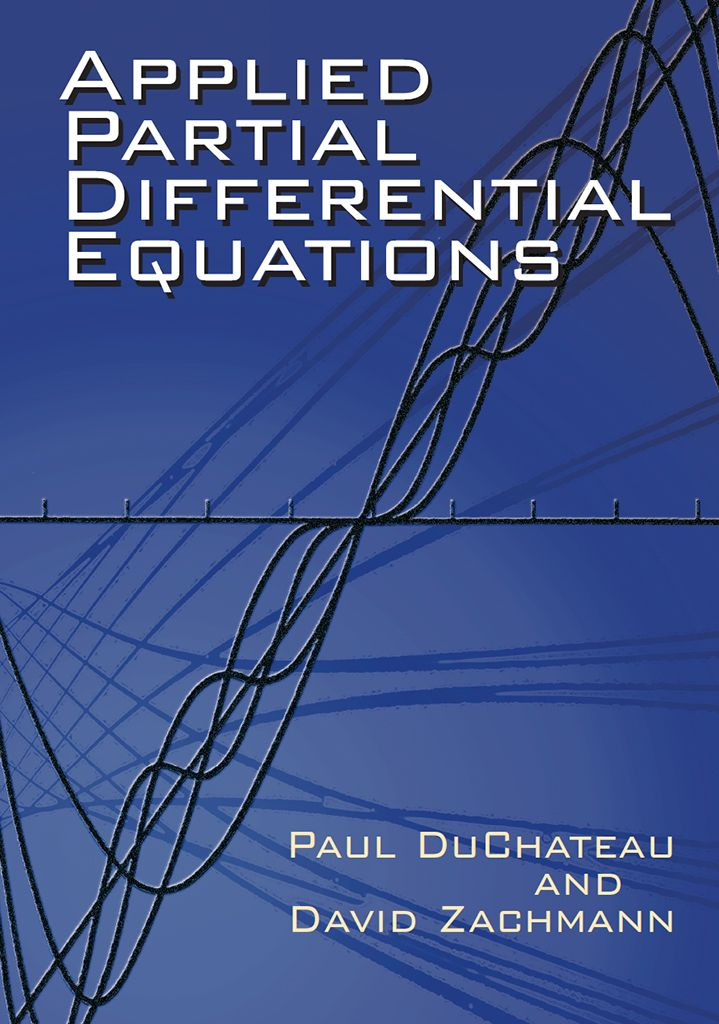 Applied Partial Differential Equations | Math Books