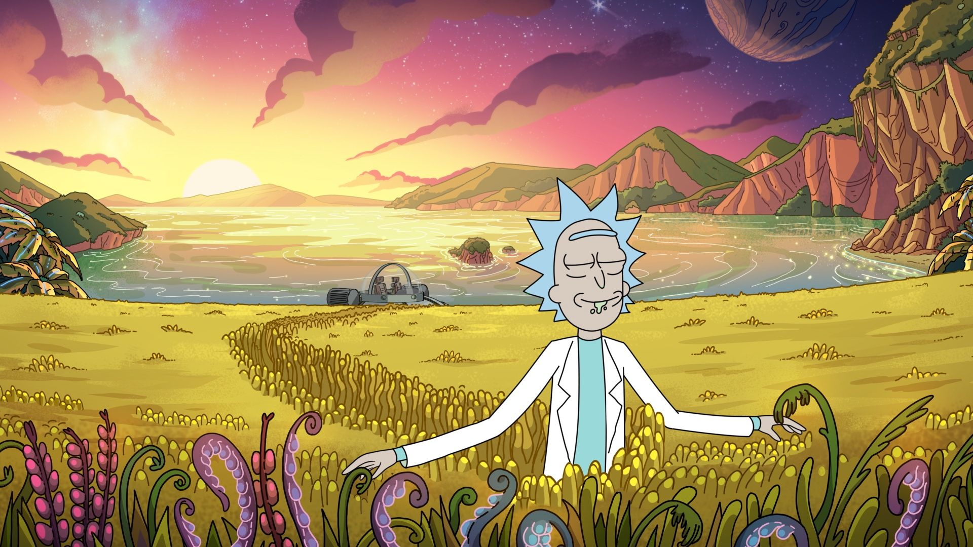 Rick And Morty Live Wallpaper Android In 2020 Rick And Morty Poster Rick And Morty Season Wallpaper Pc