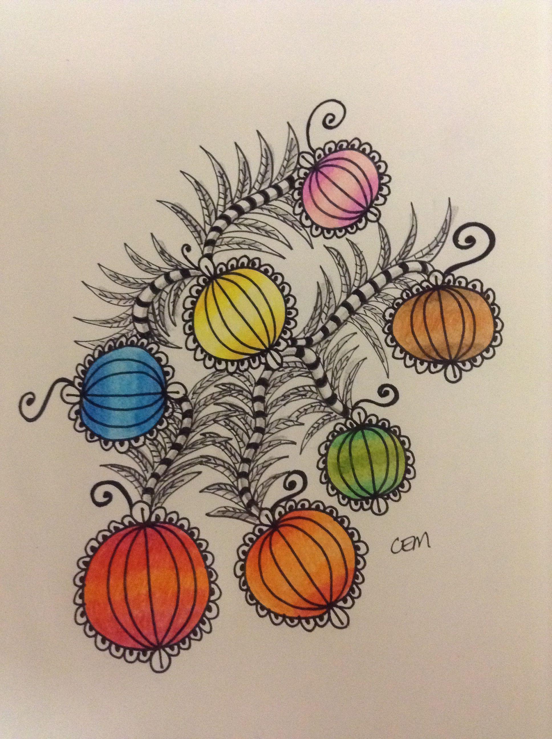 - #zentangle #zendoodle #art #drawing #pen #sharpie #graphite more at www.facebook.com/ChrissieMurphyDesigns