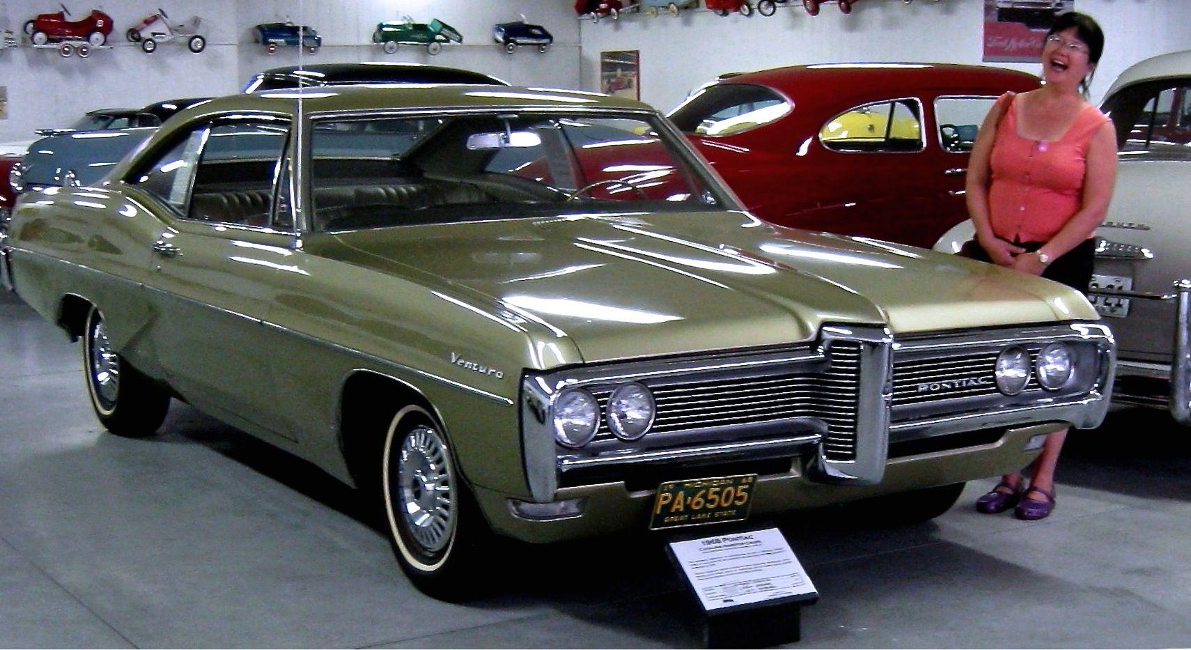 1968 Pontiac Ventura In Verdoro Green My Wife Was Thrilled To