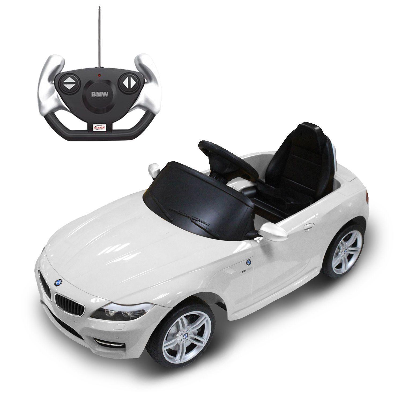 bmw z4 kids ride on car electric power toy wheels rc remote control