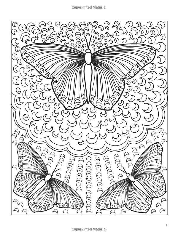 3-D Coloring Book--Butterflies | Jordan | Pinterest | Mariposas ...