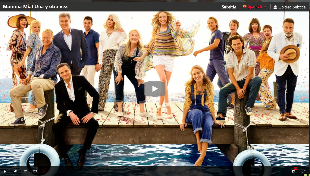 Hd Mamma Mia Una Y Otra Vez 2018 Pelicula Completa En Español Gratis Mamma Mia Netflix Stellan Skarsgard