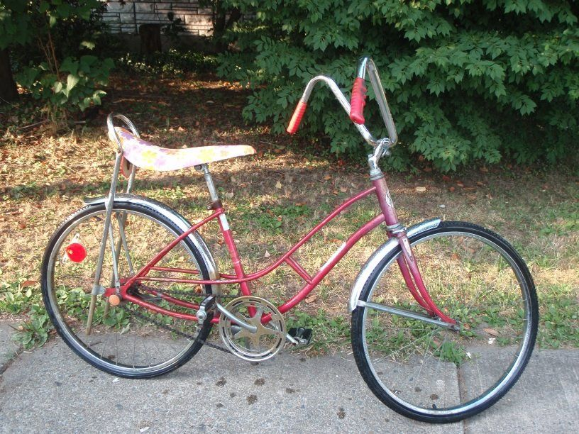a14d3514f30 Girls Sears Spyder Bike | Vintage bicycles - found, restored, works ...