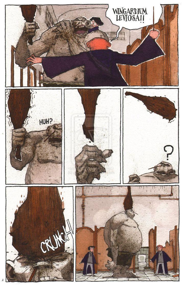 'THE TROLL IN THE BATHROOM 2' by ghwalta